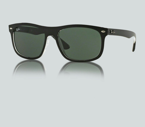 Authentic Ray Ban 0RB4226 605271 TOP MATTE BLACK ON TRASP Sunglasses
