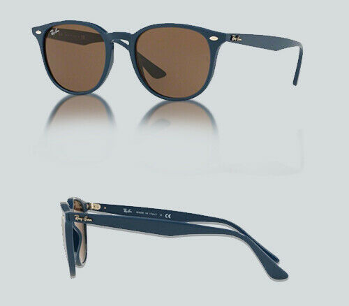 Authentic Ray Ban 0RB 4259 F 638073 BLUE Sunglasses