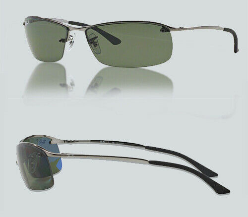 Authentic Ray Ban RB3183 004/9A GUNMETAL Polarized Sunglasses