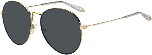 Authentic Givenchy Gv7089s-0j5g/ir Gold 7089 s Sunglasses