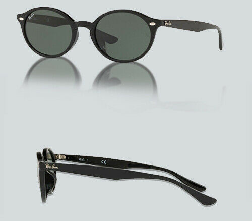 Authentic Ray Ban 0RB 4315 F 901/71 BLACK Sunglasses