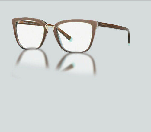 Authentic Tiffany & Co. 0TF2179-8277  Brown Gradient transparent 2179 Eyeglasses