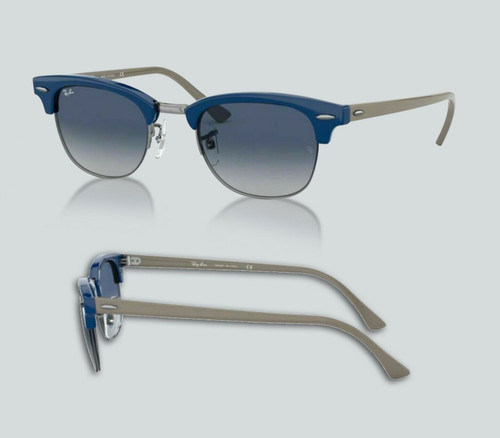 Authentic Ray Ban 0RB4354 64224L Blue/Gray Blue Gradient Sunglasses