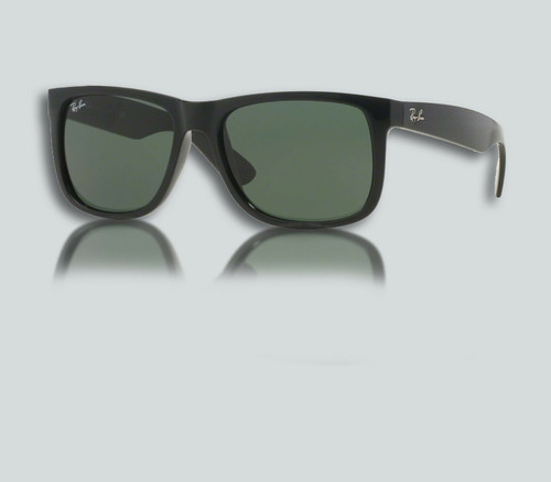 Authentic Ray Ban RB 4165 F JUSTIN 601/71 BLACK Sunglasses