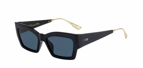 Authentic Christian Dior Catstyledior 2 0PJP Blue Sunglasses
