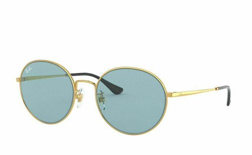 Authentic Ray Ban 0RB3612 001/80 Gold Sunglasses