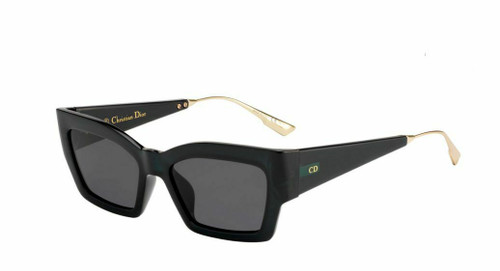 Authentic Christian Dior Catstyledior 2 01ED Green Sunglasses