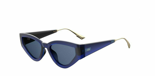 Authentic Christian Dior Catstyledior 1 0PJP Blue Sunglasses