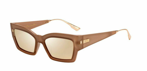 Authentic Christian Dior Catstyledior 2 0S45/SQ Pink Gold Sunglasses
