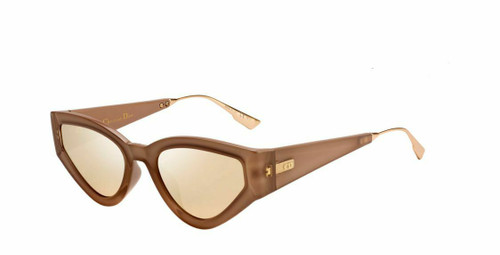 Authentic Christian Dior Catstyledior 1 0S45 Pink Gold Sunglasses