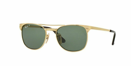 Authentic Ray Ban Junior 0RJ9540S Polarized 223/9A Gold Sunglasses