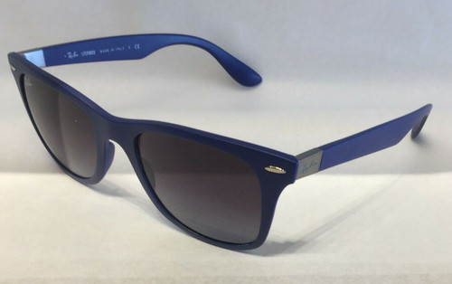 Authentic Ray Ban 0RB4195 60158G Blue Gradient Sunglasses