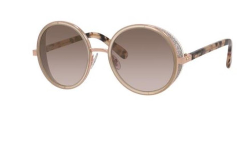 Authentic Jimmy Choo Andie/S-0J7A/NH Gold Copper Andie s Sunglasses