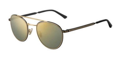 Authentic Jimmy Choo Dave/S-02M2/K1 Black Gold Dave s Sunglasses