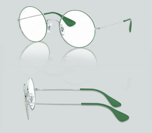 Authentic Ray Ban 0RX 6392 JA-JO 3030 SILVER ON TOP GREEN Eyeglasses
