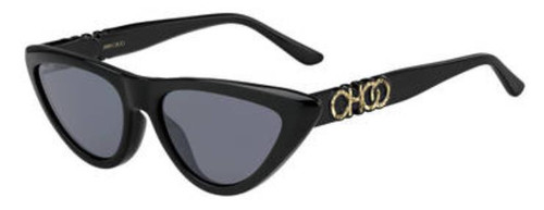 Authentic Jimmy Choo Sparks/G/S-0807/IR Black Sparks gs Sunglasses