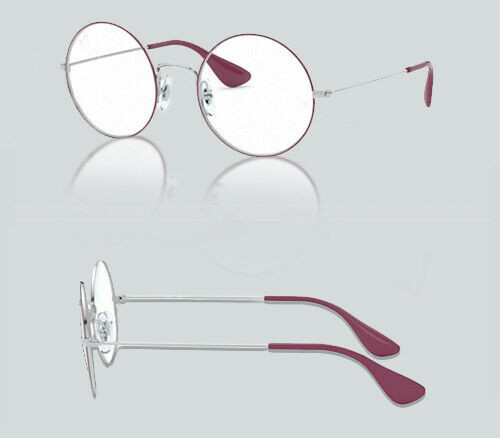 Authentic Ray Ban 0RX 6392 JA-JO 3031 SILVER ON TOP PINK Eyeglasses