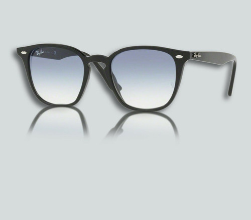 Authentic Ray Ban 0RB4258 601/19 BLACK Sunglasses