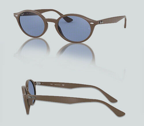 Authentic Ray Ban 0RB 4315 638180 BROWN Sunglasses
