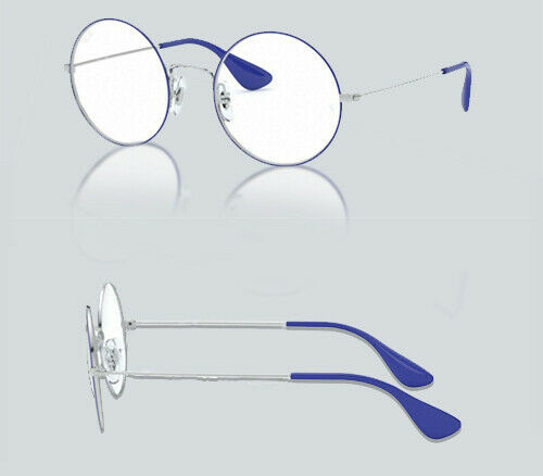 Authentic Ray Ban 0RX 6392 JA-JO 3029 SILVER ON TOP BLUE Eyeglasses