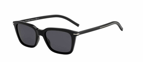 Authentic Christian Dior Blacktie 266S 0807/IR Black/Gray Blue Sunglasses