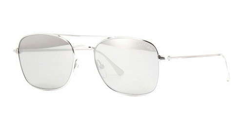 Authentic Tom Ford LUCA 02 FT 0650 18C Silver Sunglasses