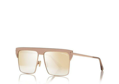 Authentic Tom Ford Antibes FT 0706 18C Rose Gold 33Z Limited Edition Sunglasses