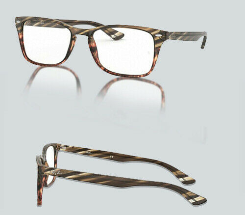 Authentic Ray Ban 0RX 5228 MF 5837 GREY GRADIENT BROWN Eyeglasses