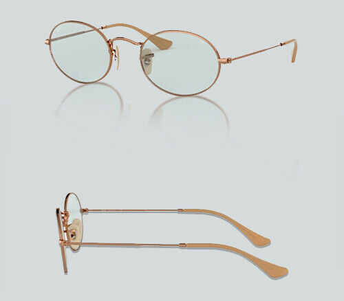 Authentic Ray Ban 0RB 3547 N OVAL 91310Y COPPER Sunglasses