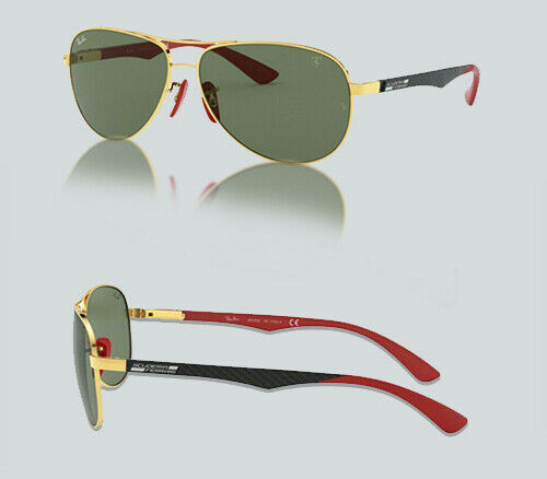 Authentic Ray Ban 0RB 8313 M F00871 GOLD Sunglasses