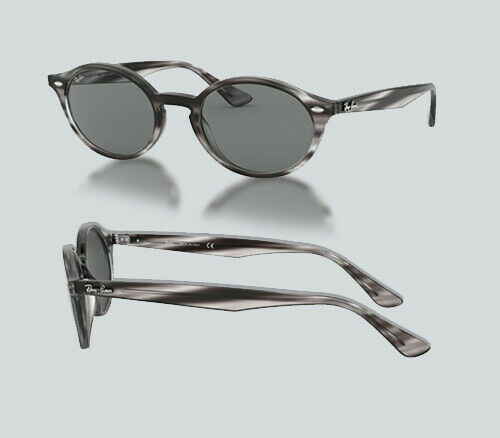 Authentic Ray Ban 0RB 4315 643087 STRIPPED GREY HAVANA Sunglasses
