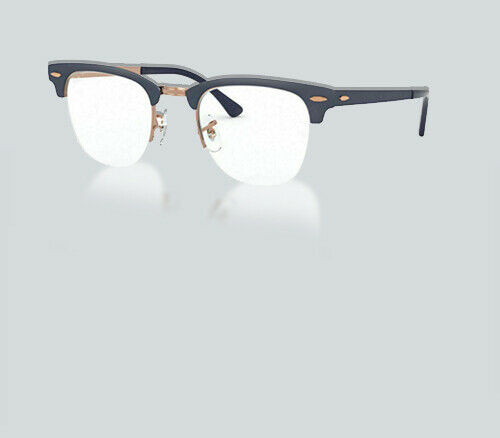 Authentic Ray Ban 0RX 3716 VM CLUBMASTER METAL 3055 COPPER BLUE Eyeglasses