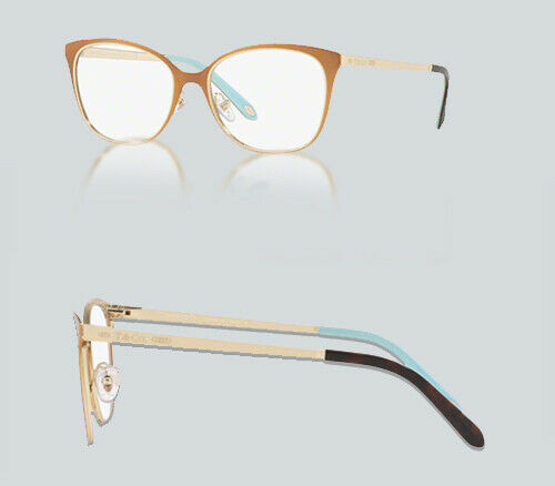 Authentic Tiffany & Co. 0TF1130 6128 BROWN/PALE GOLD Eyeglasses