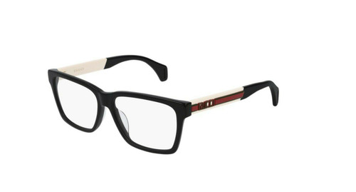 AUTHENTIC  Gucci Seasonal Icon GG 0466OA Eyeglasses 001 Black