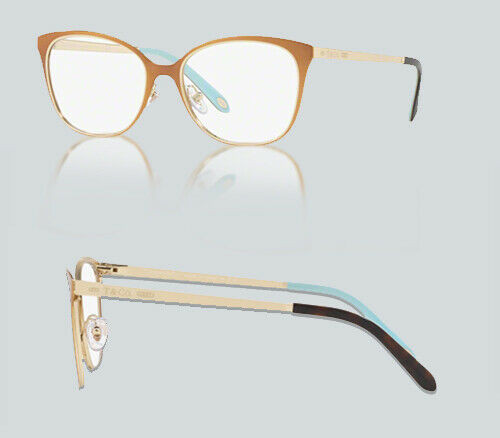 Authentic Tiffany & Co. 0TF1130 6130 NUDE/PALE GOLD Eyeglasses