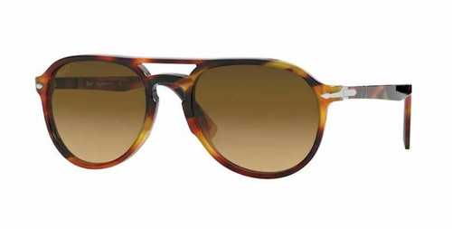 Authentic Persol 0PO3235S 1082M2 Tortoise Brown/Brown Polarized Sunglasses