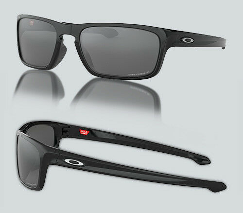 Authentic Oakley 0OO9408 SLIVER STEALTH 940805 BLACK Polarized Sunglasses