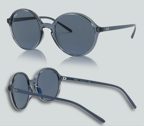Authentic Ray Ban 0RB4304 639980 Transparent Grey Sunglasses