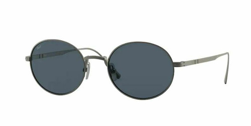 Persol 0PO5001ST 8001R5 Pewter/Blue Sunglasses