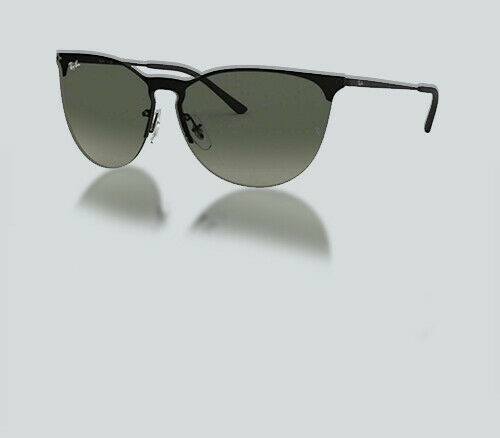 Authentic Ray Ban 0RB 3652 901411 RUBBER BLACK Sunglasses