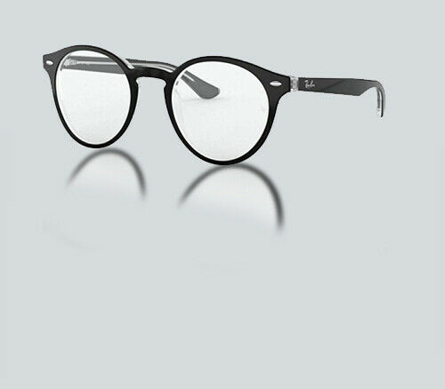 Authentic Ray Ban 0RX 5376 2034 TOP BLACK ON TRANSPARENT Eyeglasses