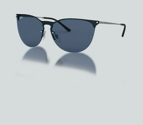Authentic Ray Ban 0RB 3652 901580 RUBBER GUNMETAL Sunglasses
