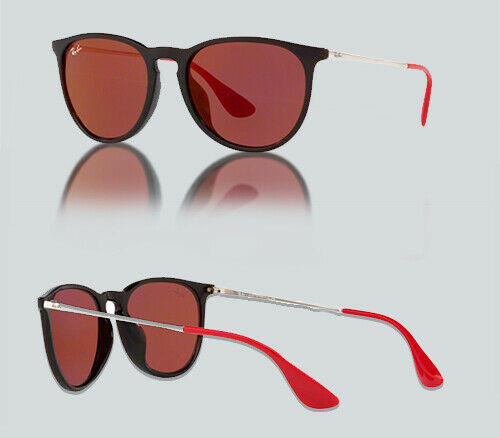Authentic Ray Ban 0RB4171F ERIKA 6339D0 Burgundy Sunglasses