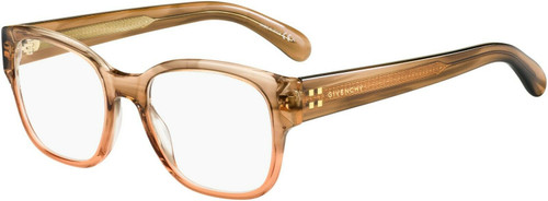 Authentic Givenchy Gv0103-0EX4 Brown Horn 0103 Eyeglasses