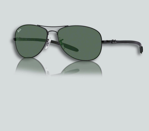 Authentic Ray Ban RB 8301 002 BLACK Sunglasses