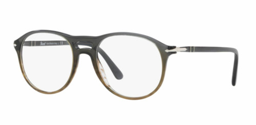 Authentic Persol 0PO 3202 V 1012 GRADIENT GREY STRIPPED GREEN Eyeglasses
