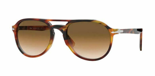 Authentic Persol 0PO3235S 108251 Tortoise Brown/Brown Gradient Sunglasses