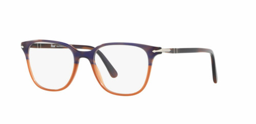 Authentic Persol 0PO 3203 V 1066 STRIPPED BLUE GRADIENT ORANGE Eyeglasses