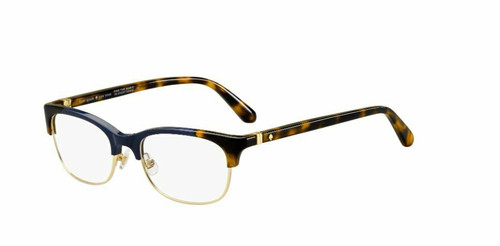 Authentic Kate Spade Adali 0PJP Blue Eyeglasses