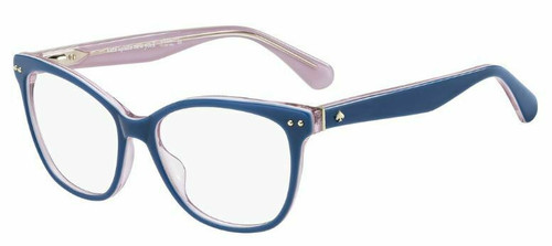 Authentic Kate Spade Adrie 0BR0 Blue Pink Eyeglasses